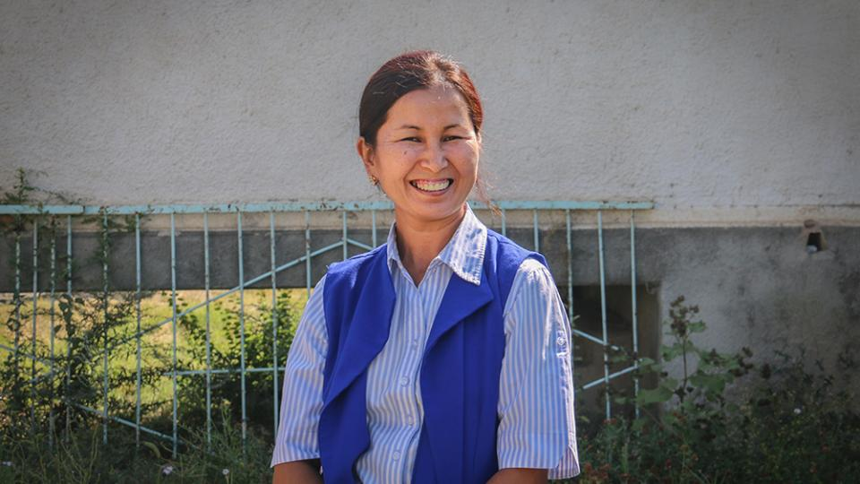 Mairam* has been treated by for XDR-TB in Kyrgyzstan