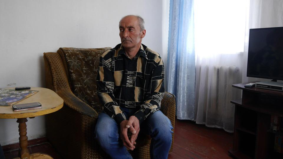 TB patient Sergey is treated by MSF in Ukraine